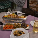 Rissoto Frutti di Mare (seafood) and Grilled Vegetables