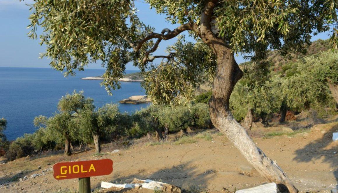 Giola, natural lagoon